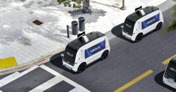 Neolix: Neue Maßstäbe beim autonomen Fahren in der City ( Bildnachweis: NEOLIX )